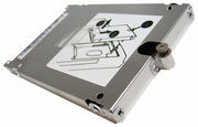 HP 8440p HDD Carrier Caddy w Cover Bracket 600643-001