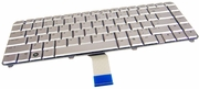 HP AEQT6U00030 US Silver Laptop Keyboard 492492-001