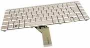 HP AEQT6V00110 Hebrew Silver Laptop Keyboard 492428-001