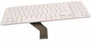 HP AEUT3S00130 Swiss White Laptop Keyboard 530578-111