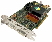 HP ATi Fire GL4 2xDVI 4x AGP Graphics Card 28130070-001