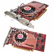 HP 365887-003 FireGl V5100 PCIe 128MB Video Card PB330A 109-a45731-10  Dual DVI