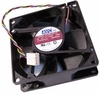 HP avc 12v DC 0.50a 4-Wire 80x27mm Fan DL08025R12U-P500 4-Pin 460106L00-553-G