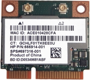 HP Broadcom Combo Wireless Bluetooth 4.0 BCM943228HMB 697316-001