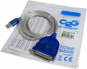 HP C2G 16899 USB DB25 6Ft Parallel Printer Cable 16899