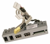 HP CQ2025 Aud-USB-IO Card Reader Assembly 661355-001 RI686 with Cables Assembly