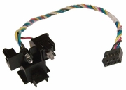 HP CQ2025 Power Switch Holder-LED-Cable 672112-001