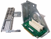 HP dc7xxx 2xPCI Riser Assy With Backwall 394213-001 With: S1-391122-S4-391122