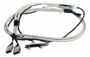 HP DL160G6 Front LED Switch 2x USB Cable 490540-001