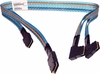 HP DL380e G8 Dual miniSAS Ribbon Cable 686614-001 24.5in/20.5in dual SFF8087