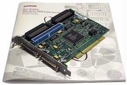 HP Dual Channel SCSI-3 Adapter Card NEW 295554-291 Compaq 2-SCSI-68Pin- 1-50Pin