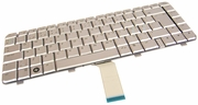 HP DV4 Netherlands Silver Laptop Keyboard 486901-DH1