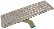 HP dv6 AEUT3300010 Czech Silver Keyboard 506538-221
