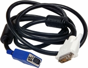 HP DVI-A Male To VGA Male 6.5 Ft Cable New 410936-001