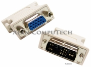 HP DVI-M to VGA-F White Adapter New N58-32M0181-E06