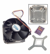HP DX2295 MT Intel Class K Heatsink Fan New 458806-001