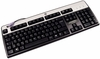 HP French Canadian KB-0316 PS2 Keyboard NEW 701428-121 Win-8 Black-Silver Retail