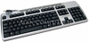 HP EZ-Access Blk-Silver USA USB Keyboard NEW 265905-001
