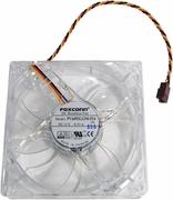 HP PVA092G12M-14 12v 0.55a 3800RPM LED Fan 656328-001 92x92x25mm Red LED