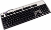 HP French Canadian JB Win-8 PS2 Keyboard NEW 434820-127 KB-0316 Black-Silver Retail