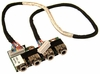 HP Hdx9000 9607B1 Audio Board with Cable 452317-001