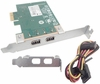 HP HI349-2 Firewire IEEE PCIe 1x W Cable 631333-001 Include Cable LP Bracket