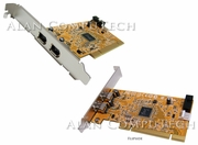 HP iEEE1394 IOI PCI FH 2-Port Card GLF-C050-PCB-600