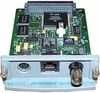 HP/JetDirect 600N EIO 10B2 Ethernet  J3111A BNC Local Talk Card