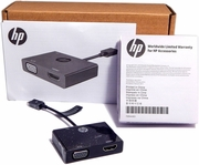 HP Micro USB to HDMI-VGA Adapter New K2P81AA