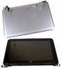HP Mini 10.1in HD Fush Glass Led LCD Display 612197-001 Silver with Plastic Assembly