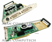 HP nVidia Quadro FX1300 PCI 128MB Video Card 366495-001