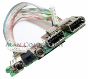 HP NX8220 NC8230 USB Audio Board W Cables 382677-001