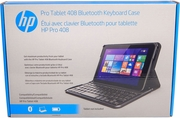 HP Pro Tablet 408 Bluetooth Keyboard Case K8P76AA-ABA US English New Retail