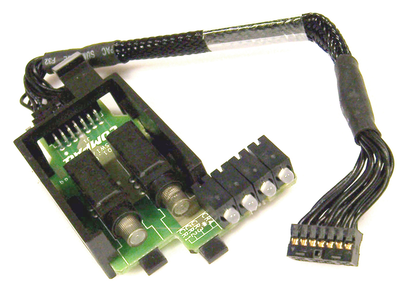 HP Proliant DL380 G2 LED Power Switch with Cable Assy