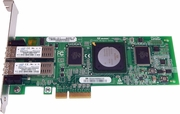 HP QLogic 4GB PCI-e Dual port Fiber Card QLE2462-HP PX2510401-69-C PX2510401-10