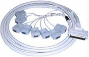 HP RS-232C Octopus Interface Cable New J2064A-CABLE