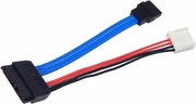 HP Sata Optical Drive Power Data Cable NEW 499201-001 Foxconn Slimline Cable