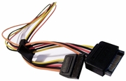 HP SATA Power Extension 20in Cable NEW Bulk 609886-001 SATAPower SATA15PN-to-2F22