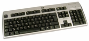 HP Estonian Smartcard USB Keyboard NEW 434822-CA4 CCID Black-Silver Keyboard