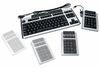 HP Spanish Modular w/ KU-041 USB Keyboard  352753-161 KU-0412.Silver and Carbonite