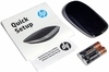 HP Ultrathin Bluetooth Black Wireless Mouse New L9V78AA Black and Silver