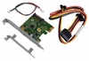 HP USB 3.1 TypeCx1 PCIe x1 Card Kit New 821128-001 Inc. LP bracket and Cables