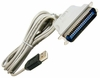 HP USB-to-Parallel Converter 6.8ft Cable NEW 304097-001 80-In Grey Cable UP-11128EH