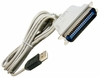 HP USB-to-Parallel Converter 6.8ft Cable NEW 305244-001 80-In Grey Cable UP-11128EH