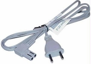 HP Volex 2-Prong 250v Angled Grey Power Cord New M1250R
