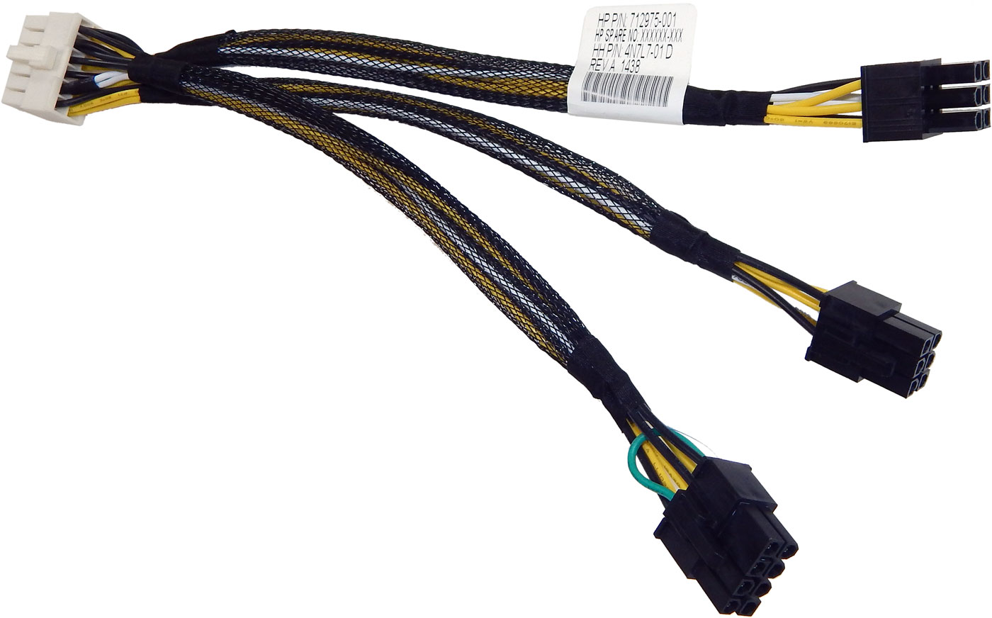 HP WS460c Gen8 Graphic Expan Power Cable New 712975-001