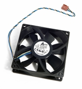 HP  AUB0912HH 92x25mm 12V 0.40 A 4-wire Fan 411456-001
