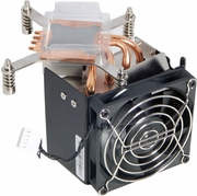 HP Z620 2nd CPU Riser Heatsink Fan New 647288-001
