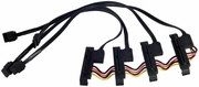 HP Z800 SATA SAS Hard Drive Cable Assembly 464948-001 New Pull