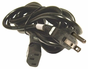 HP125v 12a TL895 JPN2 Black 12ft Power Cord 139867-006 125v 12A for: 327337-291